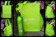 Matching aluminum water bottle and lunch bag-- great for your camp store or gift shop!  Other colors are available...  http://www.beachhouselogos.com/bhl-218ca93.asp and http://www.beachhouselogos.com/aluminum_water_bottle.asp