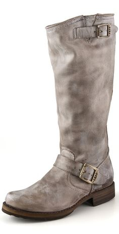 I'll say it again - love a grey boot! Frye Veronica Slouch Boots