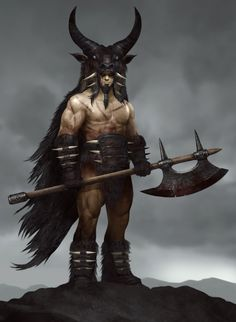 Barbarian Lord by QuinnSimoes on DeviantArt