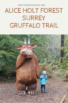 This is how we spent a day at the Alice Holt Forest Gruffalo Trail in Surrey as a family. So much fun and a picnic too - only pay parking. Family Days Out Uk, Days Out With Kids, London England Travel, London Travel, Travel With Kids, Family Travel, Gruffalo Trail, London With Kids, Uk Destinations