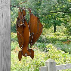 Image result for bat sculptures