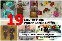 19 Water Bottle Crafts