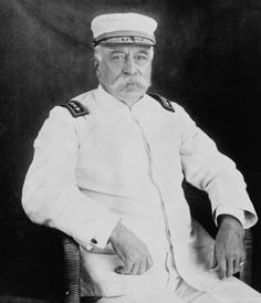 Admiral of the Navy George Dewey in 1899.
