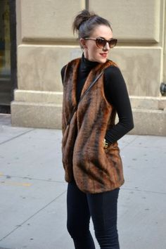 """Faux Fur Forever 212 Vests, Stretchy Demnim C Wonder Jeans, Cotton H Tops 