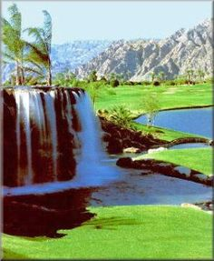Heritage Palms golf course...Palm Springs