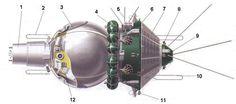 Первые многоместные космические корабли Восход и Джемини. | timemislead.com