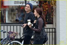 lily collins and jamie campbell bower the mortal instruments on set photos   Lily Collins and Jamie Campbell Bower Out in Toronto...Again - City of ...