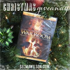 Christmas War Room DVD by LifeWay Stores and Book Giveaway. Enter to win by 12/24! #free #giveaway #faith #WarRoom