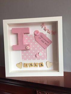 Personalised Christening Frame, christening frame, christening gift, personalised gift, baptism gift, naming ceremony gift, baptism frame