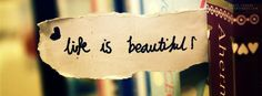 Life is Beautiful #life quote