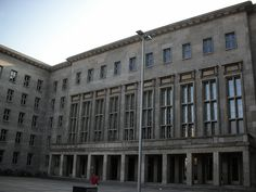The former Nazi Air Ministry building, now home to the German Federal Finance Ministry