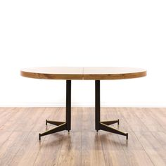 Retro Mid Century Modern Dinette Table W/ Leaf
