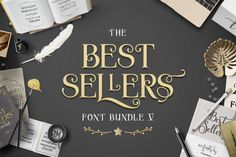 Save off the RRP by grabbing The Best Sellers Font Bundle Volume V today! 40 best selling fonts from our Marketplace in one bundle! Brush Font, Brush Lettering, Ocean Font, Graphic Design Fonts, Signature Fonts, Wedding Fonts, Creative Fonts, Happy Flowers, Modern Fonts