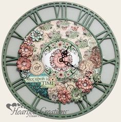 Heartfelt Creations | Once Upon A Time Clock