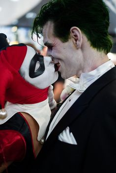 Harley Quinn and Joker Kissing | Recent Photos The Commons Getty Collection Galleries World Map App ...