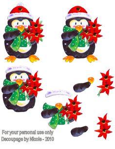 Christmas decoupage Christmas Sheets, Christmas Topper, 3d Christmas, Christmas Cards To Make, Christmas Clipart, Christmas Makes, Christmas Printables, Christmas Pictures, Xmas Cards