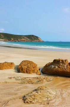 Squeaky Beach, Wilsons Promontory National Park, Victoria, Australia
