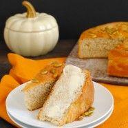 Quick Pumpkin Beer Bread - Foxes Love Lemons