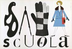 By Lora Lamm (born 1928), 1958, Sala Scuola, la Rinascente. (I)