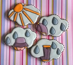 Sunshiny Rain - Rainy Sunshine | Cookie Connection