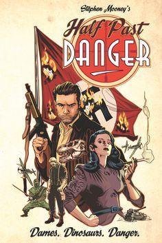 Review - Half Past Danger HC (IDW Publishing)