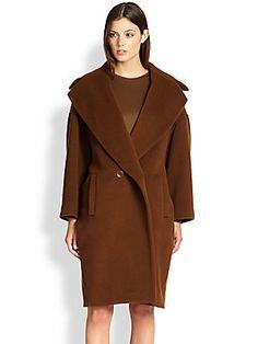 MaxMara Kaiser Dolman-Sleeve Coat