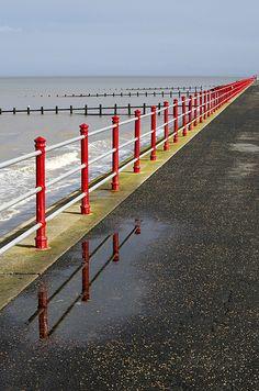 Beach, Rhyl, North Wales