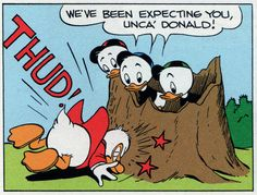 """foxy relations - we've been expecting you unca' donald 