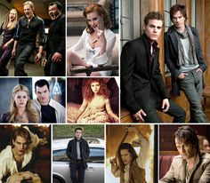 The best article US Weekly has ever posted - TV & Movie Vampires Through the Years