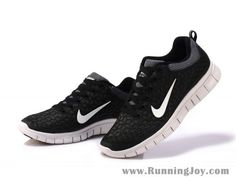 Nike Free 6.0 Women Black/White Cheap Nike Running Shoes | Nike Free Run NZ $96