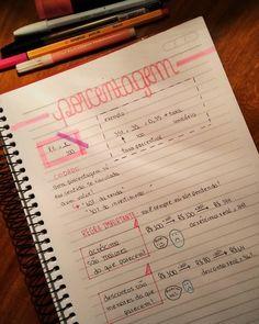 anne ✨ @studies.ane // faaaala galeraaaa 😆 resumo de porcentagem 🖤 gos... - Yooying Study Notes, Study Tips, Summary, Knowledge, Vestibular, Bullet Journal, Mood, Lettering, School