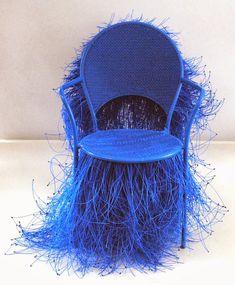 Blue chair - Joel D'Orazio