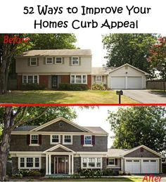 52 Ways to Improve Your Homes Curb Appeal - DIY Ideas 4 Home