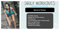 Build your Booty and legs with this killer workout!