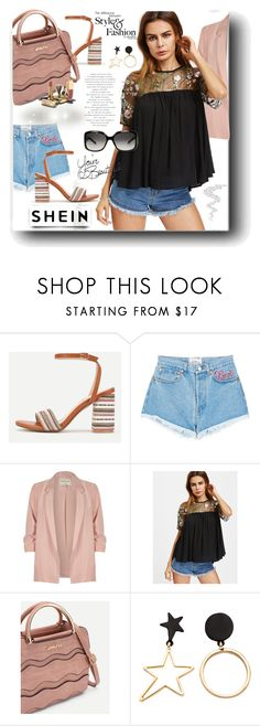 """""""SheIn"""" by snezanamilunovic ❤ liked on Polyvore featuring Forte Couture, River Island, Dolce&Gabbana, Gucci and LIST"""