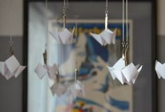 DIY // Faceted Baby Mobile by Meg Padgett from Revamp Homegoods
