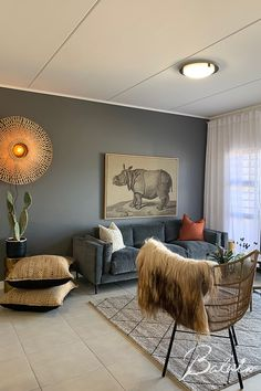 Apartments For Sale, Lounge Areas, Grey Walls, Cape Town, Ottoman, Chair, House, Furniture, Home Decor