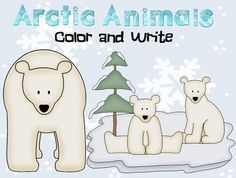 These printable color and write worksheets are a great supplement for your winter or polar animals thematic unit. Students color the cute baby animals and write about the picture. There are several lines included for beginners and more lines for advanced writers.    There are 11 pages in this file.    Animals featured are:  baby seal  polar bear  arctic fox  caribou  walrus    Graphics by: Scrappin Doodles    Students can write facts they learned about each animal as part of a writing center,...