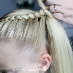 Hairstyles hair hairgoals hairstylist hairstyling hairart hairoftheday hairdresser haironfleek by noemi espinosa 29 animate a las boxer braids! Easy Hairstyles For Long Hair, Braids For Long Hair, Girl Hairstyles, Braided Hairstyles, School Hairstyles, Trending Hairstyles, Hair Up Styles, Medium Hair Styles, Hair Tutorials For Medium Hair