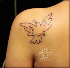 Picasso Bird Tattoo