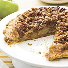 Upside down apple pie. I've made it before and it's sooo good. I got this recipe from Southern living, but there are several versions out there.