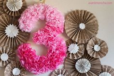 DIY Projects with Coffee Filters | Birthday Party Crafts by DIY Ready at http://diyready.com/uses-for-coffee-filters-diy-projects-and-ideas