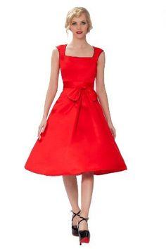 SEXYHER 'Grace' Style Classy Vintage 1950's Rockabilly Bow Dress - RBJ1409, http://www.amazon.co.uk/dp/B00J99DZH8/ref=cm_sw_r_pi_awdl_ZdeFtb1YGWXNW