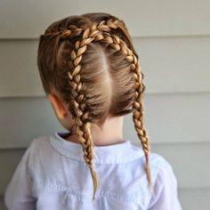 20 ideas de peinados para niñas