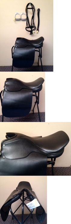 Saddles 47281: 21 Lane Fox Cutback Saddleseat Gaited English Saddle Bridle Package Suede Seat BUY IT NOW ONLY: $239.95
