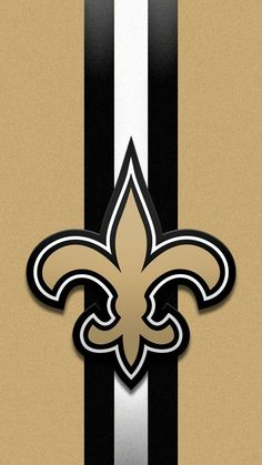 New Orleans Saints wallpaper iPhone Black n' Gold