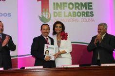 Rinde su primer informe la presidenta del DIF municipal Colima