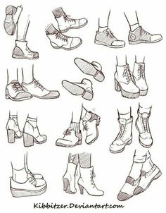 Shoes chaussures poses pied