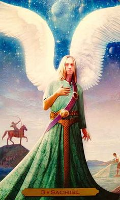 Archangel Sachiel - Oracle of the Angels