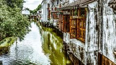 'Suzhou'+von+Angelika+Bentin+bei+artflakes.com+als+Poster+oder+Kunstdruck+$16.63